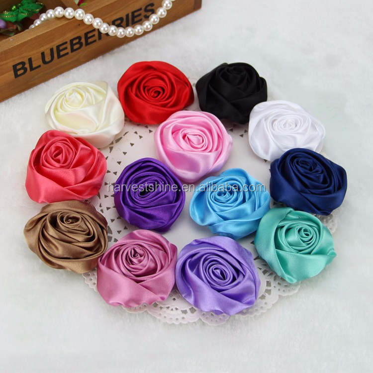Handmade satin ribbon rose fabric flowersbrooch silk flowers bulk handmade satin ribbon rose fabric flowersbrooch silk flowers bulk mightylinksfo