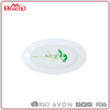 /product-gs/cheap-white-printing-oval-hard-plastic-dinner-plate-for-restaurant-cafeteria-meat-turkey-platter-60372801645.html