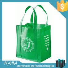 Fashionable Crazy Selling promotion non woven yellow shopping bag