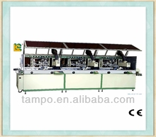 Manufacturer of Automatic 3-colour cylinder UV glass bottle screen printing machine LCB-120UV-3