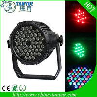 Hot product 54 3w rgbw waterproof led par light ip65 waterproof led shower light