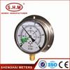 China manufacturer low price bourdon tube pressure gauge
