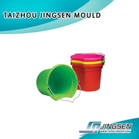 plastic pail mould,taizhou china plastic mould supplier , paint/water/fishing bucket injection mould maker