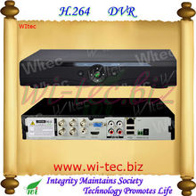 Easy to operate 4CH DVR 960H Realtime h.264 for CCTV Cameras 4CH Replay