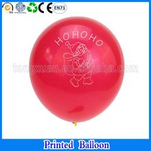 christmas santa Claus printed balloon