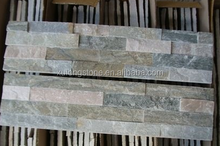 P014 Gold-Beige Slate Culture Stone,Wall Slate