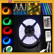 DC12V 300 LEDs Super durable 5M SMD RGB 5050 Waterproof Strip light in Lamps, Lighting & Ceiling Fans