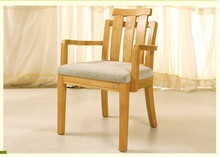 Simple and durable solid wood chair