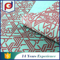China suppliers Fashion Stretch knitting embossed fabric textile
