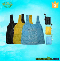 recycled 210d polyester folding bag