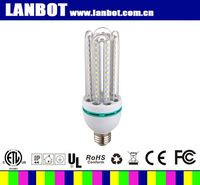 new design product high lumens with clear glass U shape led corn light to replace traditional 100W saving energy bulb