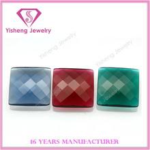 Synthetic loose smart nano glass gemstones diamond factory price