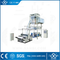 Rotary Die Head PE Film Blowing Machine Set