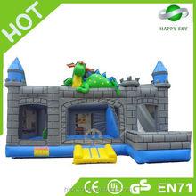 2015 High sale inflatable monster bounces castle, free bounce house, intex bounce house