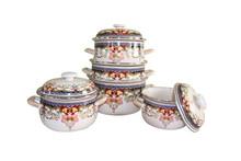 turkey enamel casserole high end quality of casserole enameled with new design