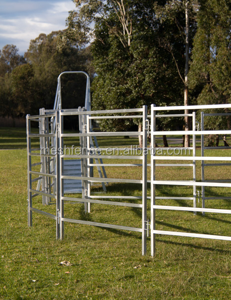 Portable Aluminum Fencing : China alibaba suppliers used pvc portable horse livestock