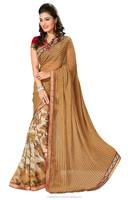 All types of indian saree Chiffon Saree bulk supplier