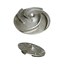304 316 Stainless steel PUMP impeller -- sand casting