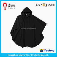 poncho clothes pvc raincoat for adult