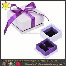 wooden boxes with sliding lid/rubber wood/wood box with slide top