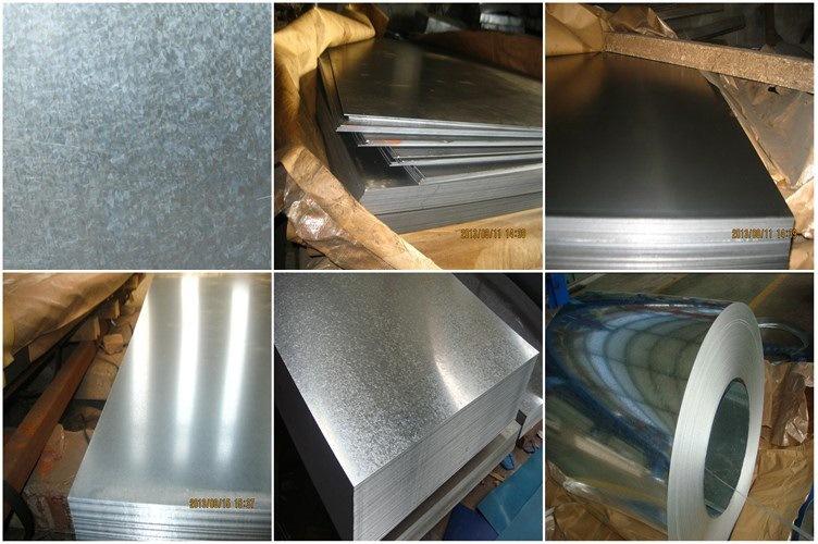Zinc Sheet Roll Hot Dipped Zinc Coated Sheet Metal