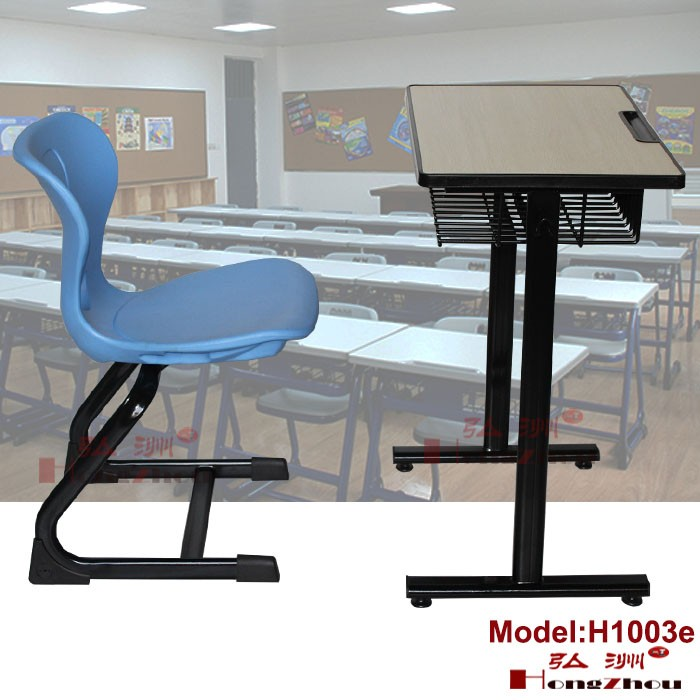 School Furniture Manufacturer Chair And Table Metal Legs