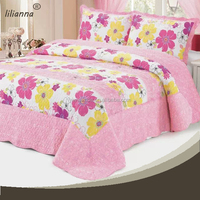 China cheap king size colorful floral bedding sets for kids