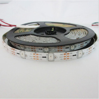 ws2812b led strip 5050 smd rgb led strip ws2811 30led/m 150led 5m;2812b led digital strip