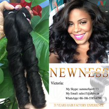 can be dye can be bleached brazilian loose deep wave hair weave