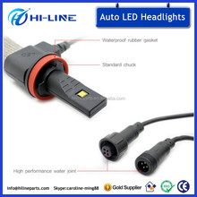 auto led lights h13 car headlight bulb kits 12v dc auto led headlight bulbs kit 6500K 2500lm led headlamp bulb