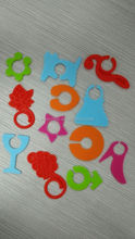 2015 hot selling Various bar accessories Silicone wine glass identification tags