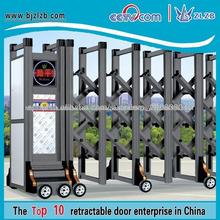 Portones de acceso con motor eléctrico puerta de la cerca telescópica