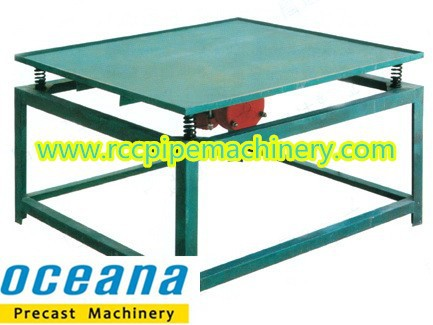 Price for vibrating table 2x2m concrete for Table vibrante