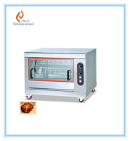 Stainless steel electric chicken Rotisserie oven
