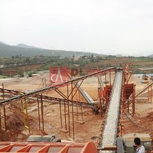 Dingli Widely Used Rubber Quarry Belt Conveyor for Sand and Gravel