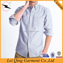 Factory wholesale casual oxford mens made to measure shirts