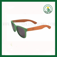 bamboo and wood sunglasses, 2014 half rim glasses with wooden