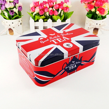 Factory sell Food packaging gift tin can with hinge