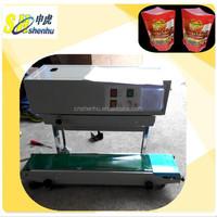 continuous band sealer /plastic film sealer