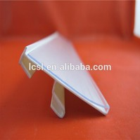 Supermarket pvc extrusion plastic label strip(external card series LC-304)