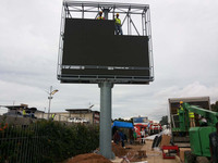Top sale and nice quality outdoor display advertising billboard