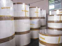 Wood pulp, 100 percent virgin wood pulp paper cup base paper