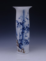 2015 Milan World Expo. product China Well-known Trademark Hand Painted Underglazed Porcelain candlestick bottle