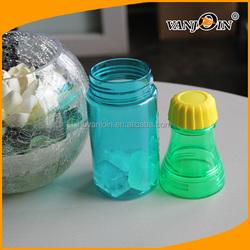 2015 newest BPA Free Two part Lemon fruit juice Ice Plastic bottle