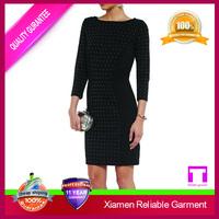 New Model Dress Knee-length Bodycon Slim girls party dresses