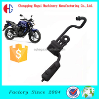 high performance carbon fiber 250cc racing chinese motorcycle exhaust