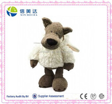 Plush Wolf in sheep's clothing cartoon toy