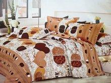 Fashion Design most popular Polyester sheet queen size 3d bedding set