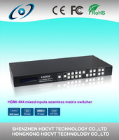 Newest 4 by 4 HDMI /VGA seamless Matrix Switch , best quality