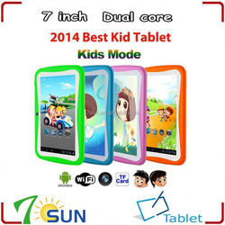 7 inch RK3026 Dual Core Tablet PC Children Kid Tab 4GB 1.2GHz kids tablet